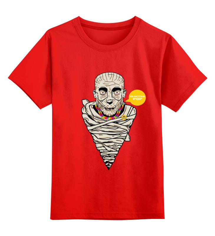 Детская футболка классическая унисекс Printio Mummy smoby детская горка king size цвет красный