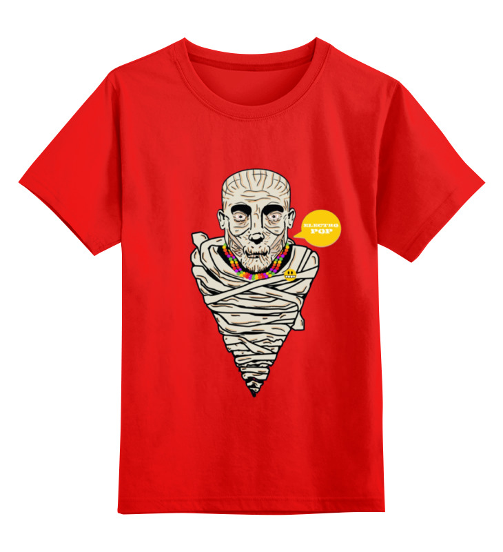 Детская футболка классическая унисекс Printio Mummy mummy