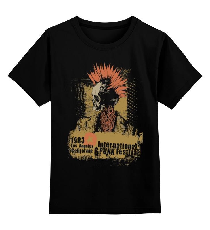 Детская футболка классическая унисекс Printio Punk 1983 детская футболка классическая унисекс printio punk girl