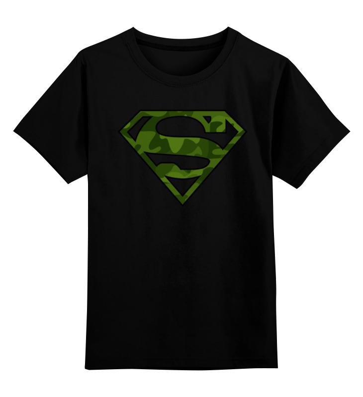 Детская футболка классическая унисекс Printio Супер-солдат детская футболка классическая унисекс printio неизвестный солдат