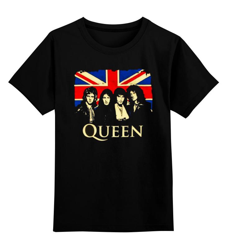 Детская футболка классическая унисекс Printio Queen group