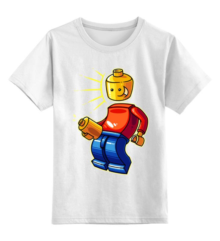 Детская футболка классическая унисекс Printio Лего (lego) футболка классическая printio лего lego
