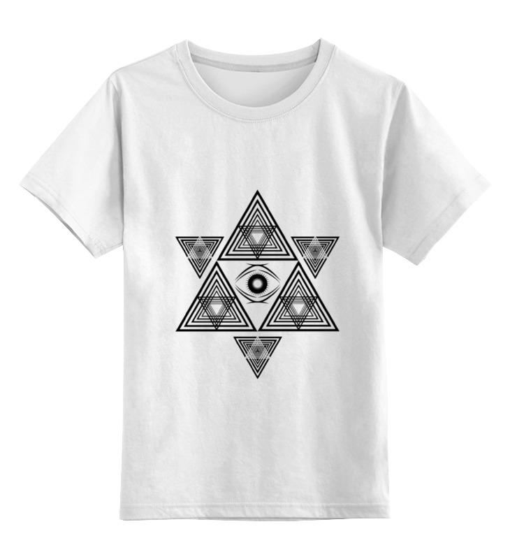 Детская футболка классическая унисекс Printio Звезда давида детская футболка классическая унисекс printio няшная звезда