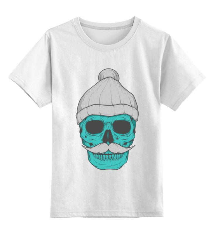Детская футболка классическая унисекс Printio Hipster skull футболка классическая printio hipster skull