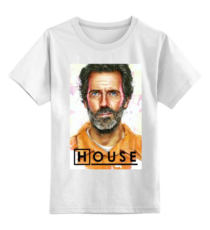 Детская футболка классическая унисекс Printio Доктор хаус / house, m. d. футболка классическая printio доктор хаус house