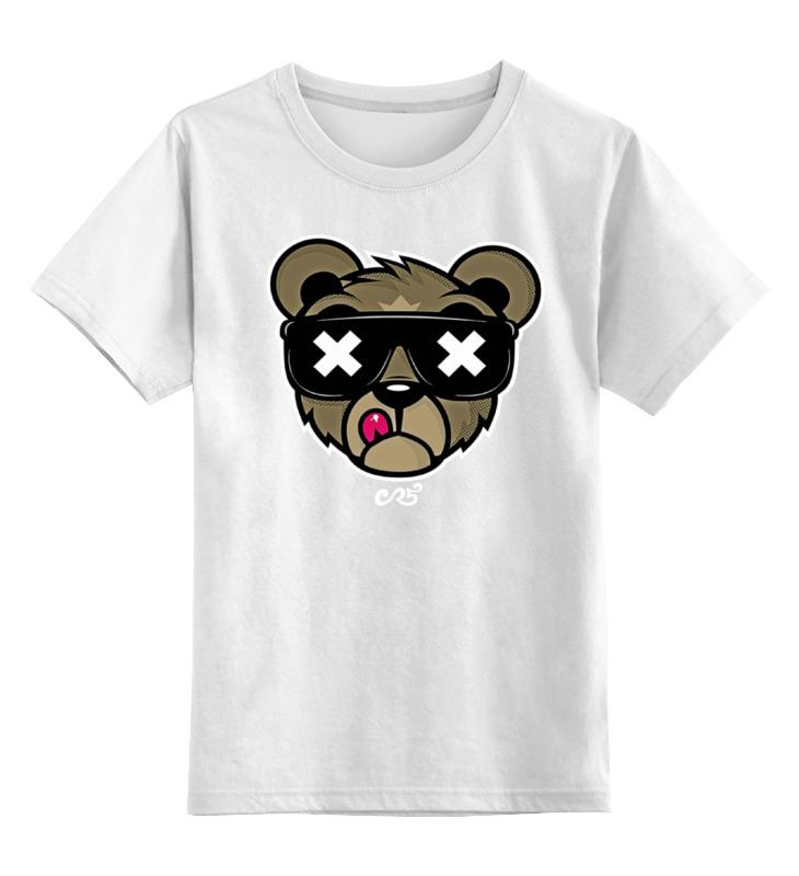 Детская футболка классическая унисекс Printio Медведь,оригинальный дизайн