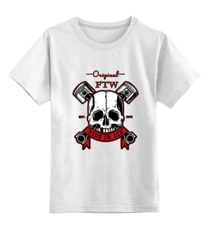 Детская футболка классическая унисекс Printio Bobber cult
