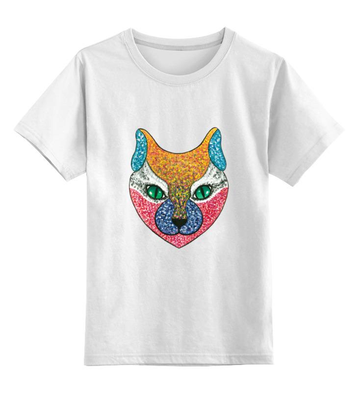 Детская футболка классическая унисекс Printio Green eyes сумка printio green eyes