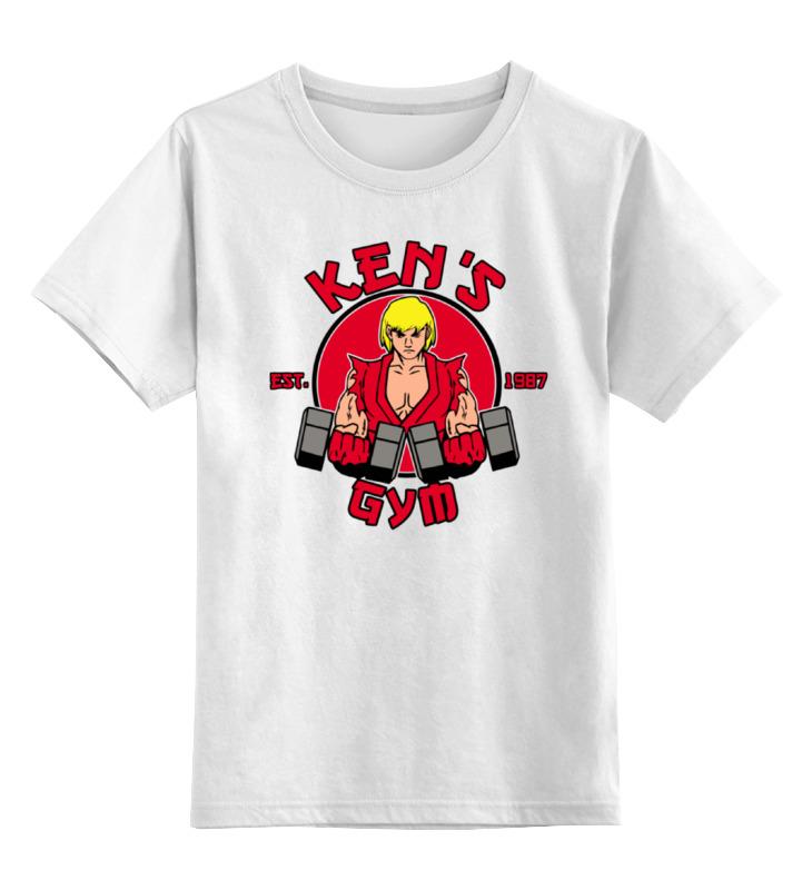 Детская футболка классическая унисекс Printio Кен (уличный боец) сменный кен для барби