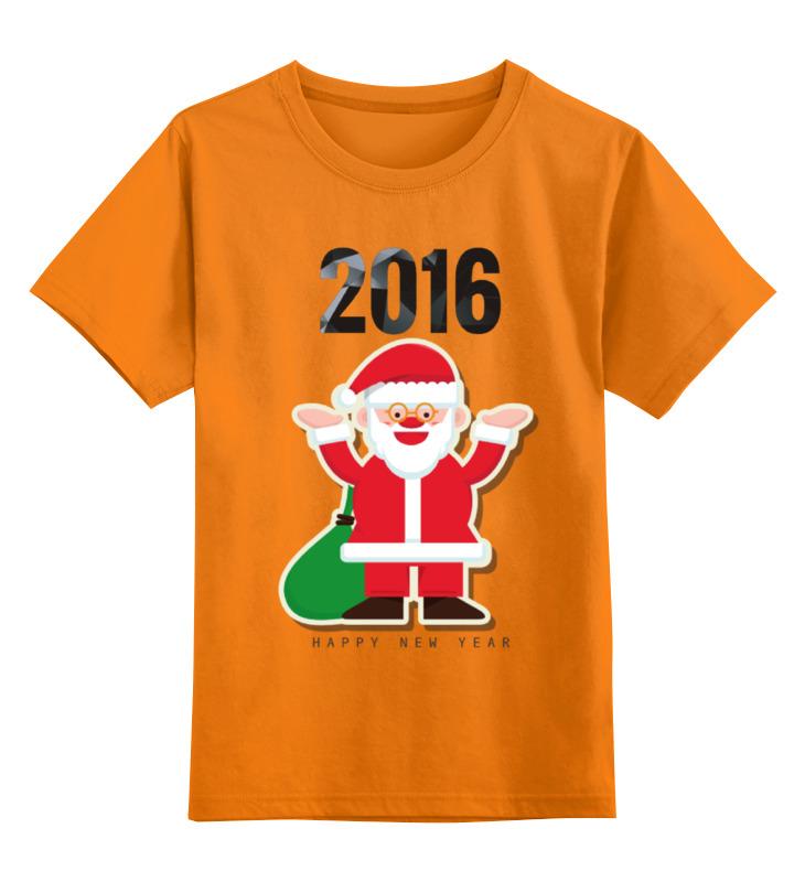 Детская футболка классическая унисекс Printio Новый 2016 год! конева л празднуем старый новый год