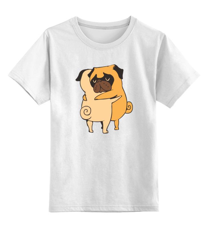 Детская футболка классическая унисекс Printio Обнимашки мопсиков детская футболка классическая унисекс printio обнимашки для котов