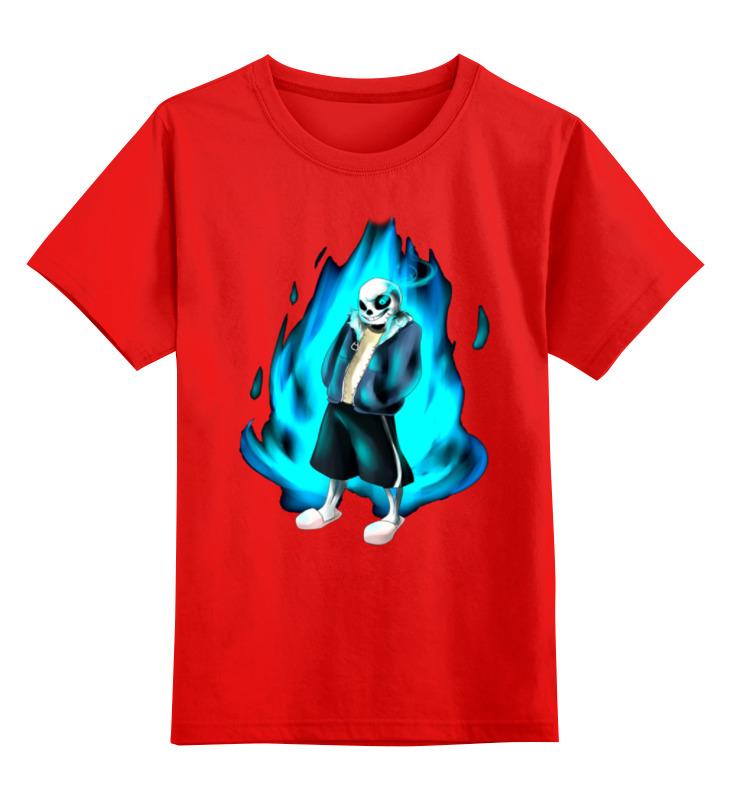Детская футболка классическая унисекс Printio Зомби