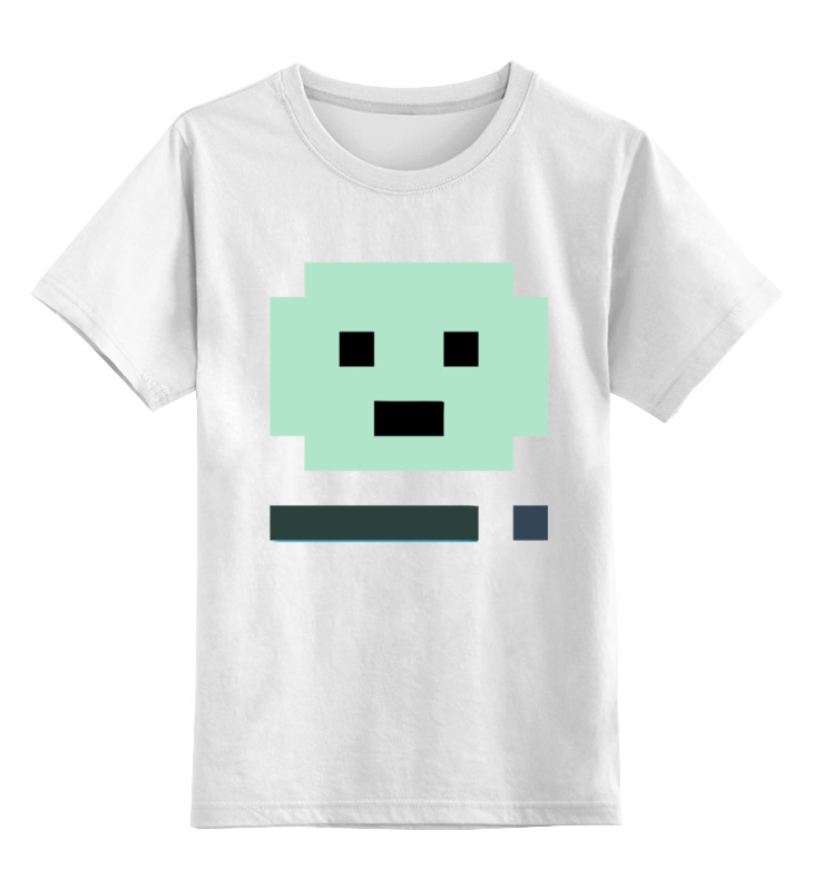 Детская футболка классическая унисекс Printio Бимо (bmo) цена и фото