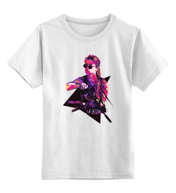 Детская футболка классическая унисекс Printio Сара коннор (терминатор)
