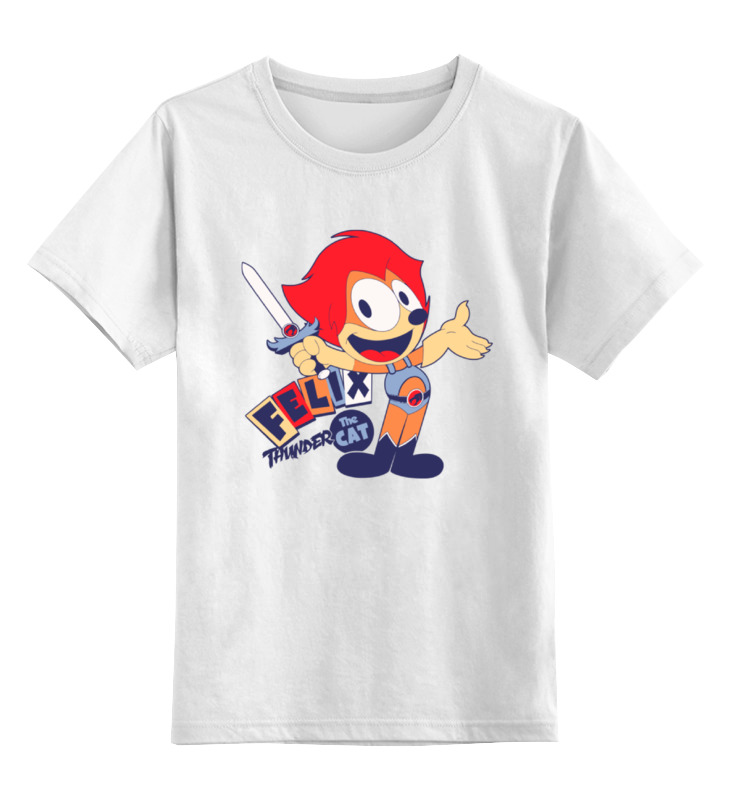 Детская футболка классическая унисекс Printio Кот феликс абиссинский кот в харькове