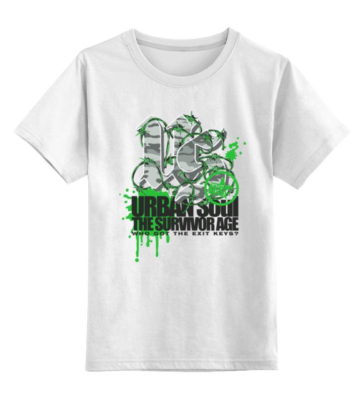 Детская футболка классическая унисекс Printio Urban soul детская футболка классическая унисекс printio рога