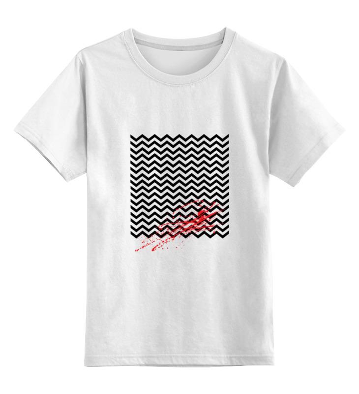Детская футболка классическая унисекс Printio Твин пикс (чёрный вигвам) мишка тед из фильма третий лишний