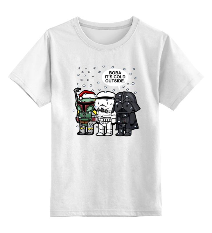 Детская футболка классическая унисекс Printio Дарт вейдер, штурмовик и боба фетт детская футболка классическая унисекс printio дарт вейдер и штурмовик звездные войны