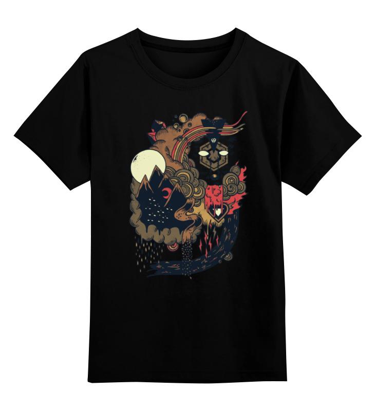 Детская футболка классическая унисекс Printio Вожак стаи клич стаи