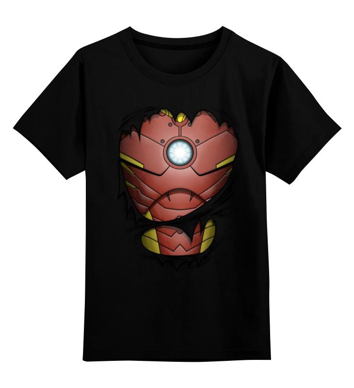 Детская футболка классическая унисекс Printio Железный человек детская футболка классическая унисекс printio мачете