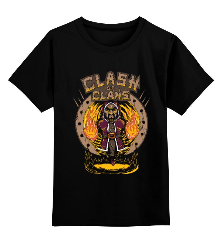 Детская футболка классическая унисекс Printio Столкновение кланов (clash of сlans) детская футболка классическая унисекс printio clash royale