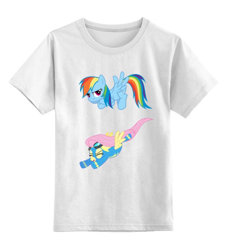 Детская футболка классическая унисекс Printio My little pony friendship is magic mockingbird songs my friendship with harper lee