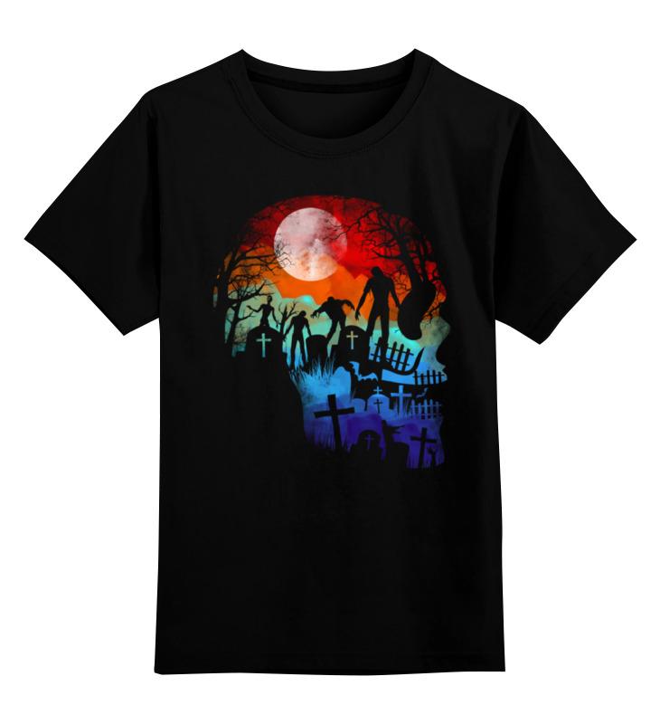 Детская футболка классическая унисекс Printio Ночь мертвецов футболка атака мертвецов