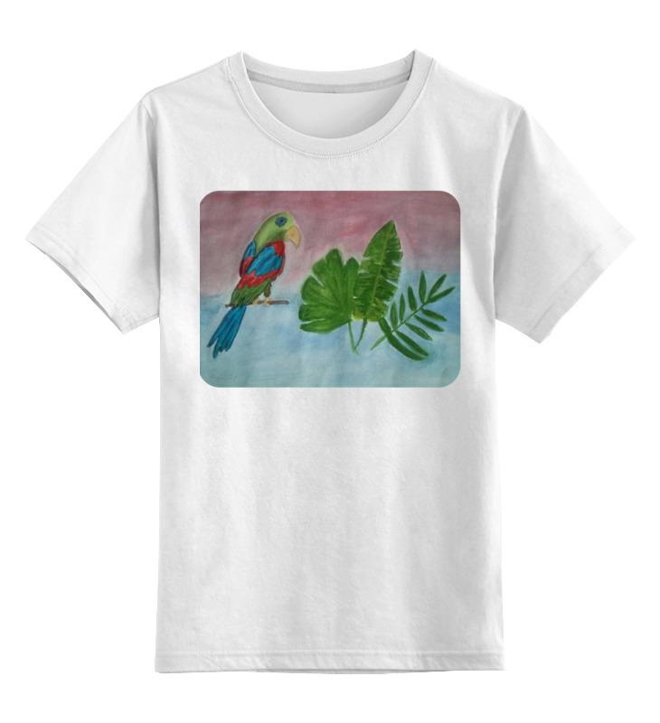Детская футболка классическая унисекс Printio Попугай в тропиках моисеев в с сумароков а в внутренние болезни и их особенности в тропиках