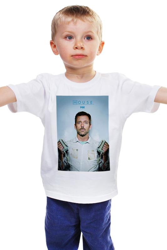Детская футболка классическая унисекс Printio House / доктор хуас футболка house