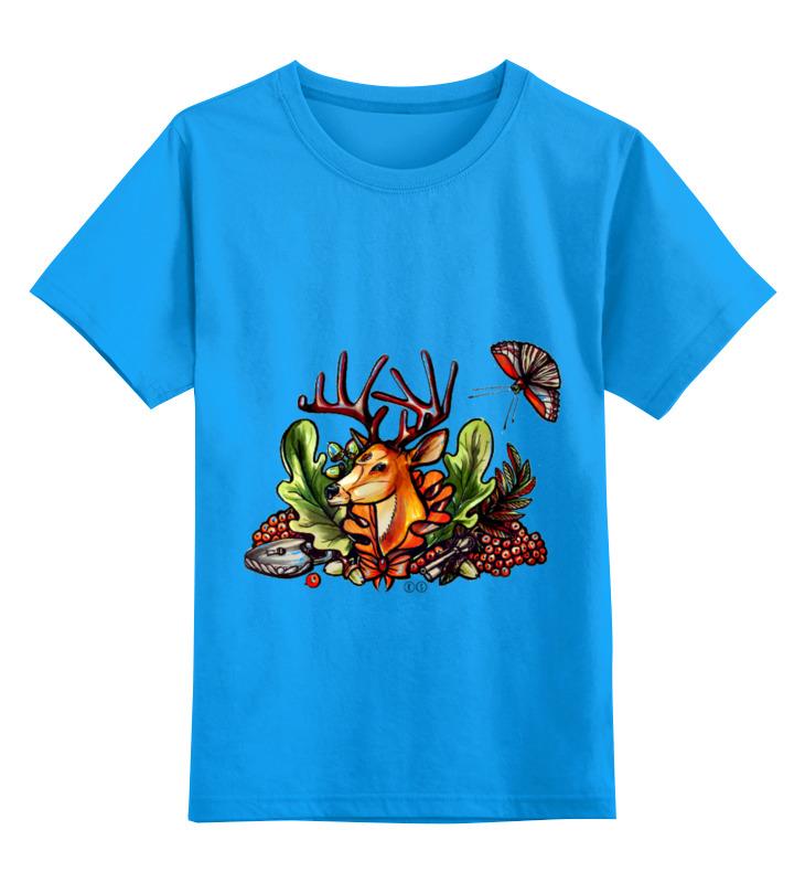 Детская футболка классическая унисекс Printio Ряибна т цена