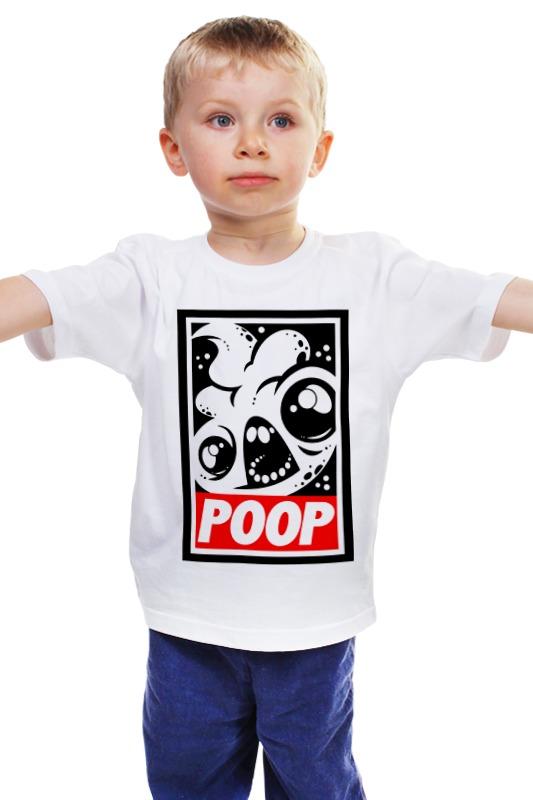 Детская футболка классическая унисекс Printio Какаха (poop) discovery за гранью игры разума сверхъестественное