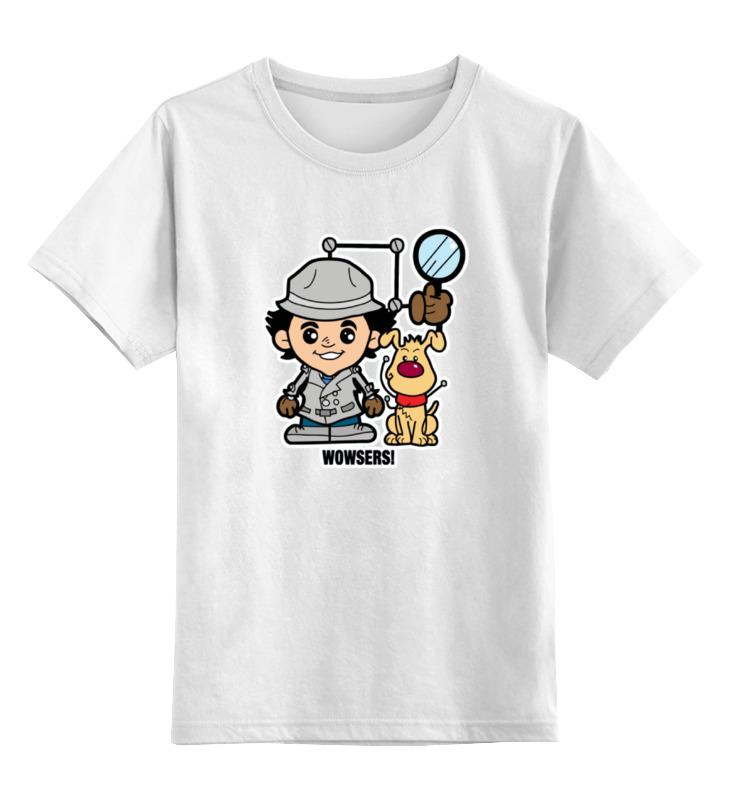 Детская футболка классическая унисекс Printio Инспектор гаджет алкотестер инспектор