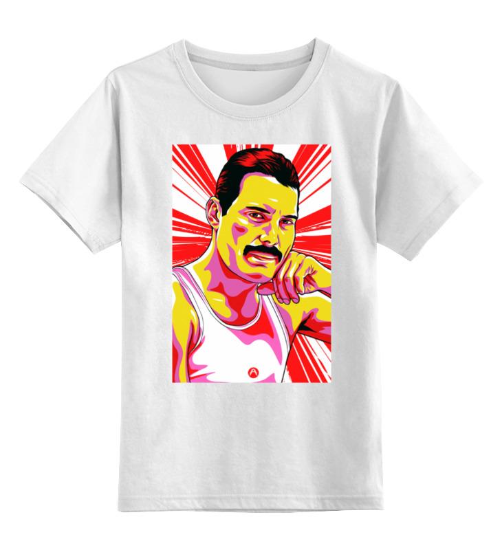 Детская футболка классическая унисекс Printio Фреди меркури