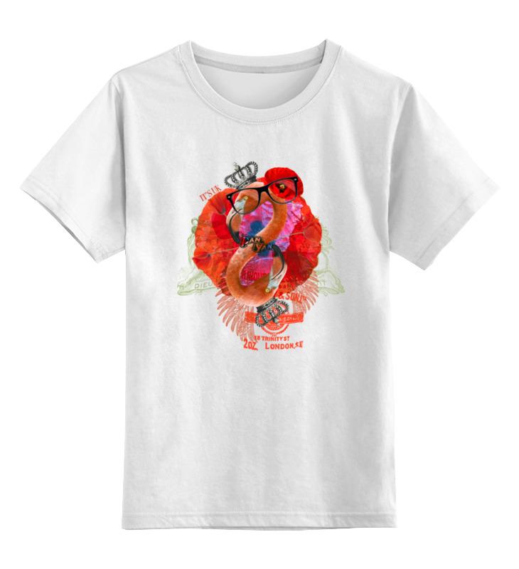 Детская футболка классическая унисекс Printio It's uk детская футболка классическая унисекс printio мачете