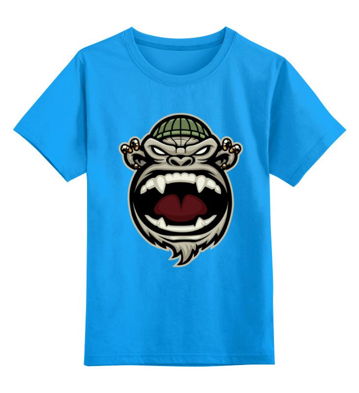 Printio Обезьяна (monkey) детская футболка классическая унисекс printio steampunk monkey