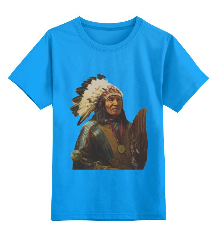 Детская футболка классическая унисекс Printio Native american баффи санти мари buffy sainte marie native north american child an odyssey