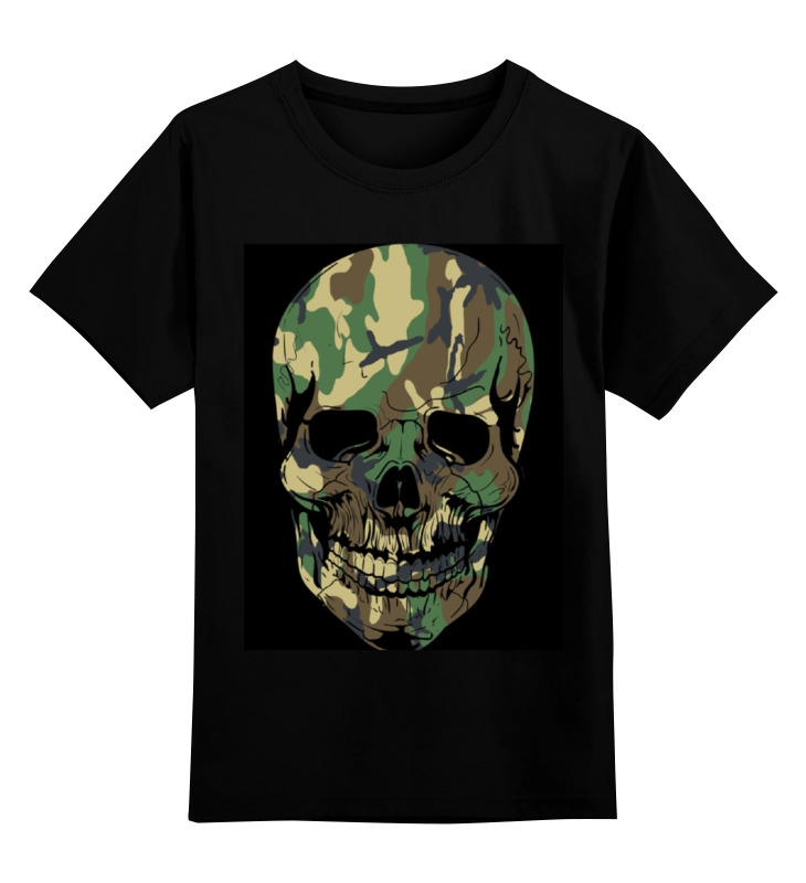 Детская футболка классическая унисекс Printio Skull - 11 футболка классическая printio skull 11