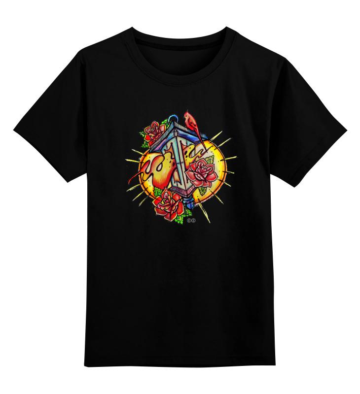 Детская футболка классическая унисекс Printio Lantern т ж цена