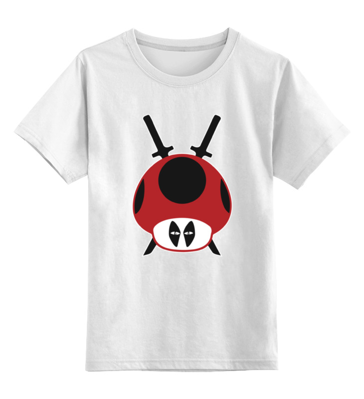 Детская футболка классическая унисекс Printio Грибы из марио (дэдпул) детская футболка классическая унисекс printio марио