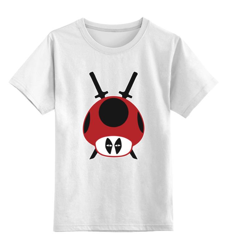 Printio Грибы из марио (дэдпул) детская футболка классическая унисекс printio грибы между нами тает лёд