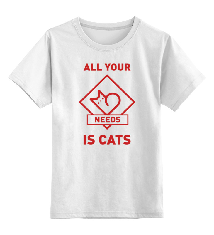 Printio All your needs is cats цена и фото