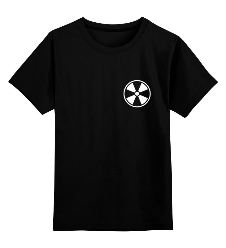 Детская футболка классическая унисекс Printio Лого «квадрифойл» малое цена и фото