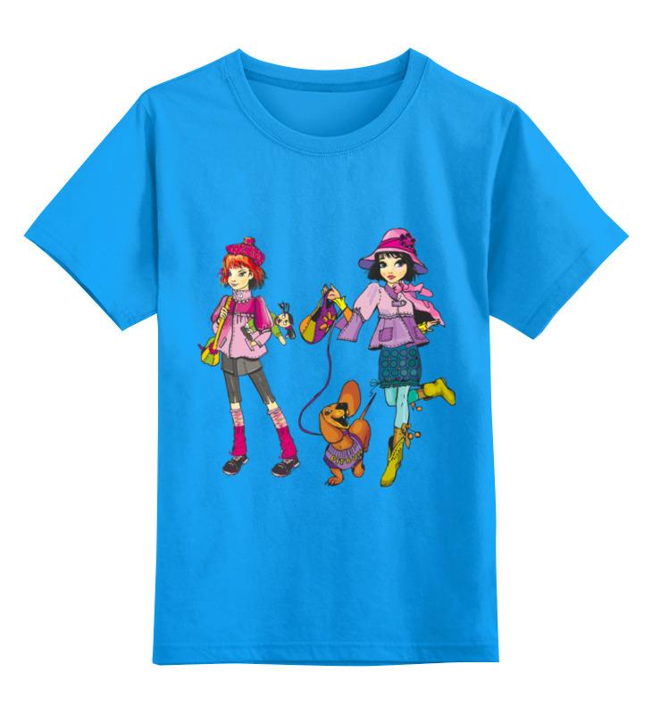 Детская футболка классическая унисекс Printio Школьницы