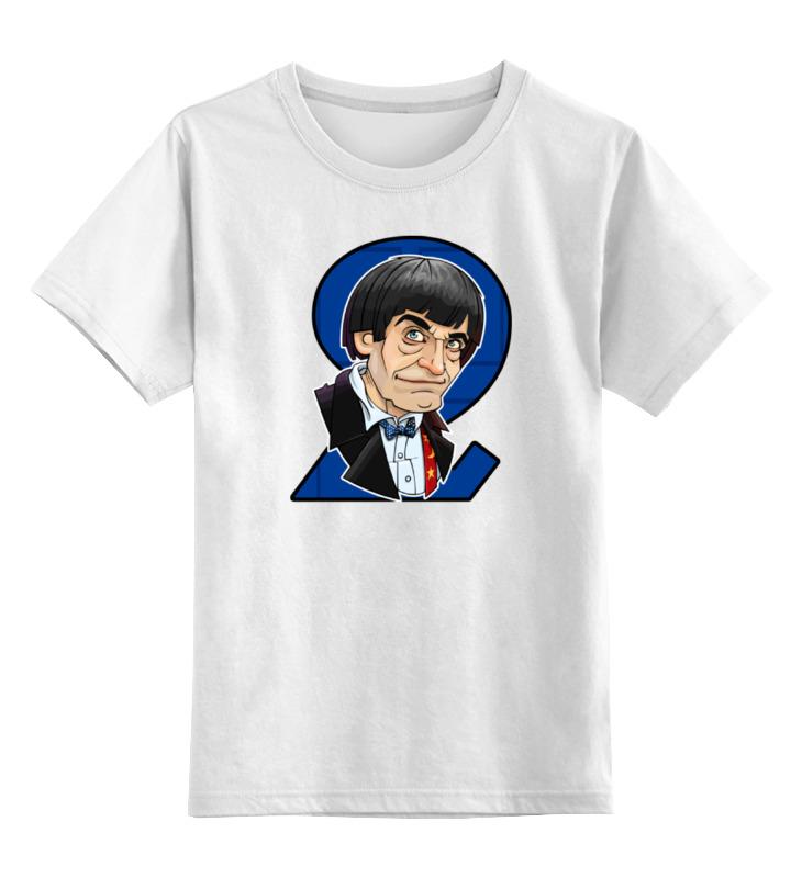 Детская футболка классическая унисекс Printio Доктор кто футболка рингер printio доктор кто doctor who