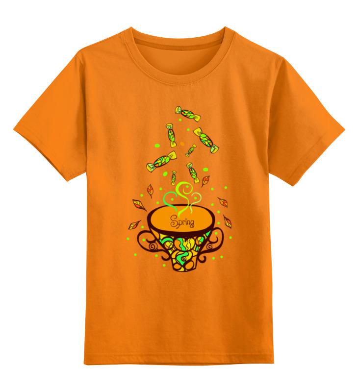 Детская футболка классическая унисекс Printio В ожидании весны