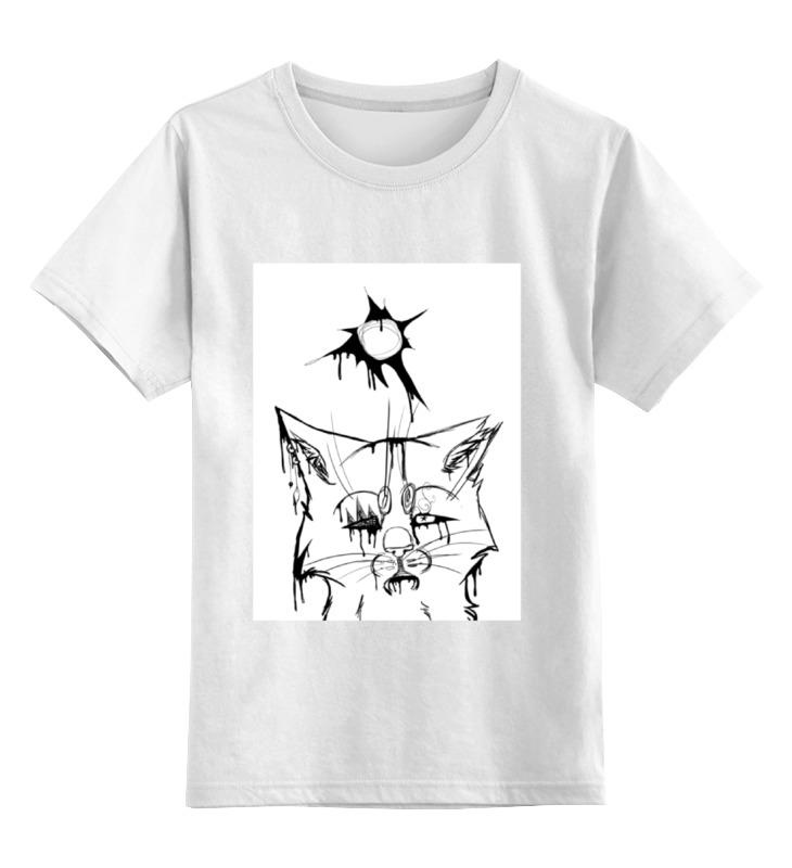 Детская футболка классическая унисекс Printio Violent sun