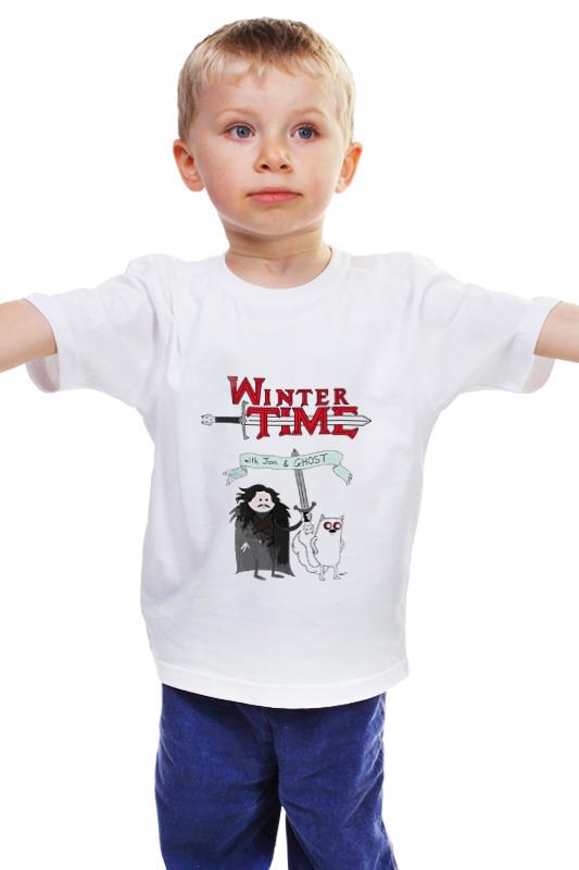 Детская футболка классическая унисекс Printio Игра престолов