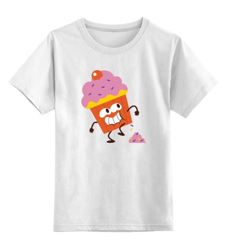 Детская футболка классическая унисекс Printio Пироженное sbart upf50 rashguard 2 bodyboard 1006