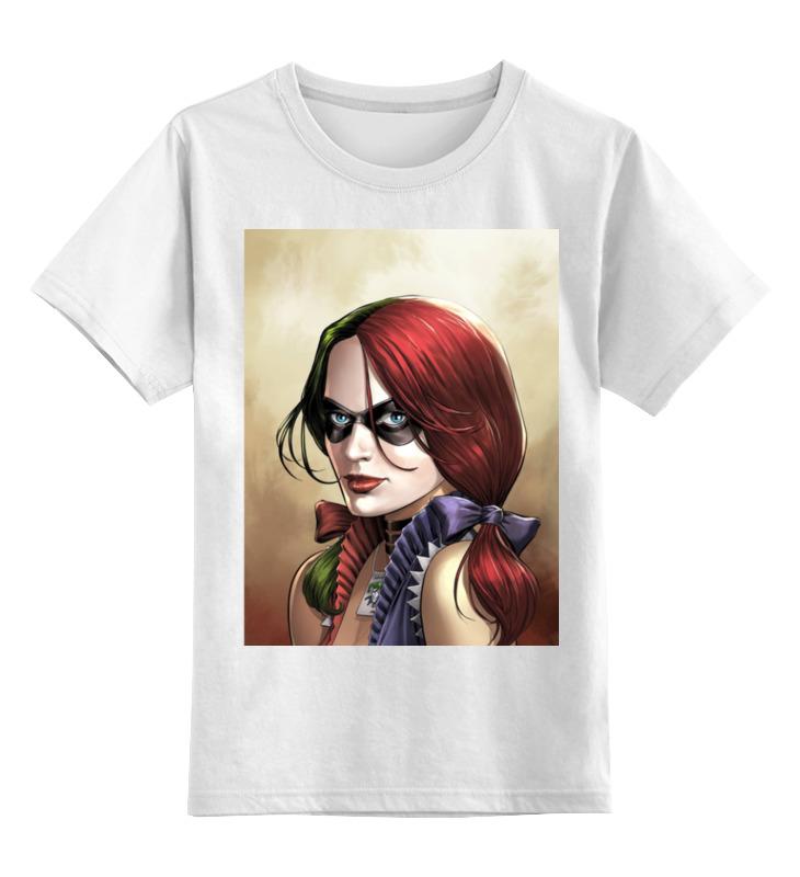 Детская футболка классическая унисекс Printio Харли квинн