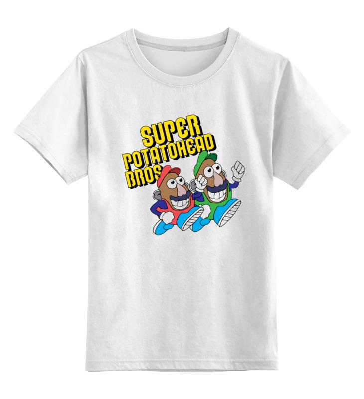 Детская футболка классическая унисекс Printio Super mario bros